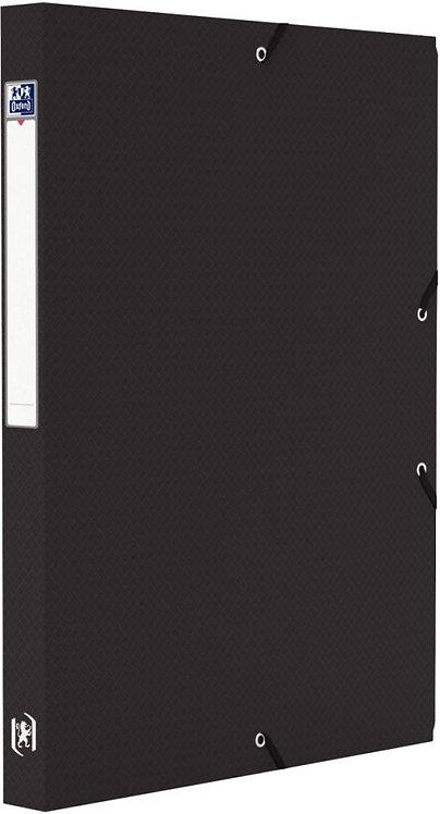 Boite de classement MEMPHIS en polypropylène, dos de 25 mm, coloris noir