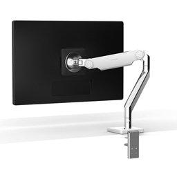 Bras support écran technique 4 articulations sur pinces