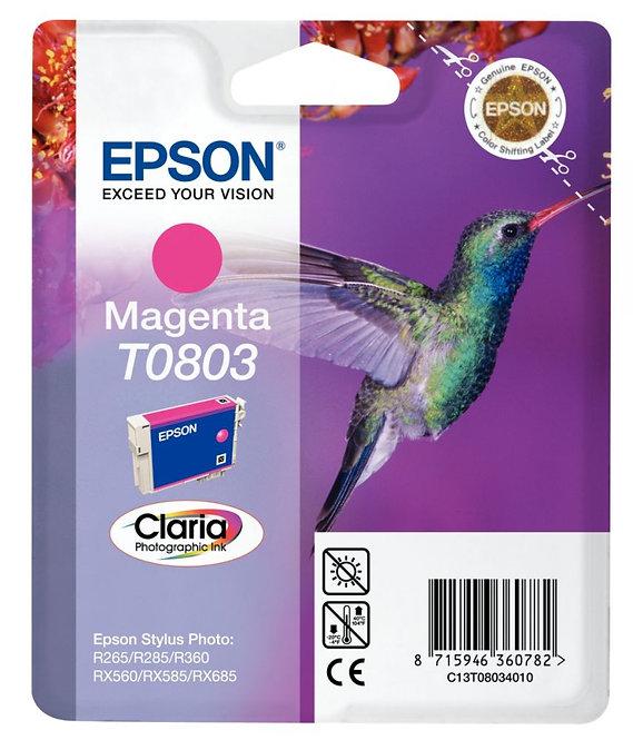 Cartouche à la marque Epson T080340 magenta