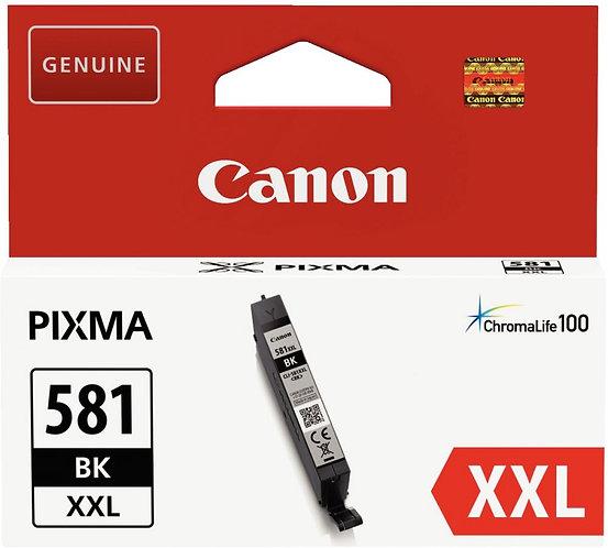 Cartouche d'encre à la marque CANON PGI580XXLPGBK photo noire très haute capacié
