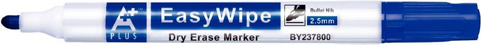 Marqueur standard pointe ogive, pour tableaux blancs bleu
