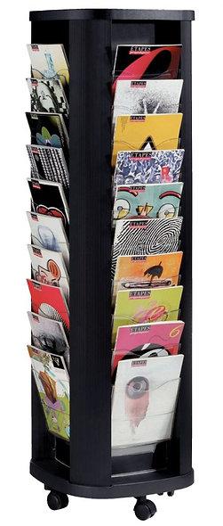 Présentoir mobile carrousel 40 cases
