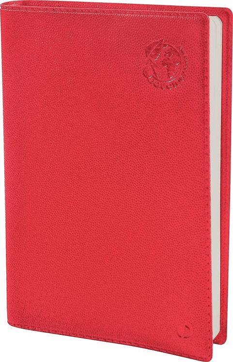 Agenda equology 16 x 24 cm ministre rouge