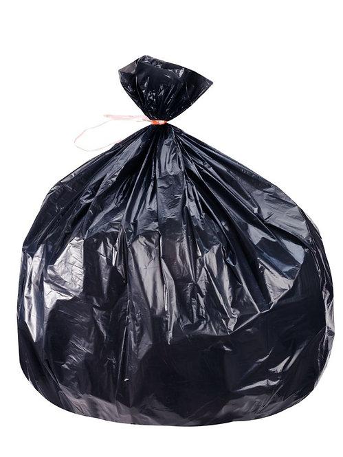 Carton de 500 sacs poubelles 130L déchets légers
