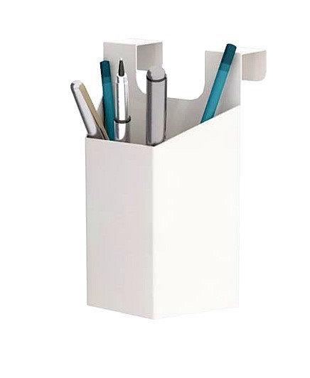 Pot à crayons métallique