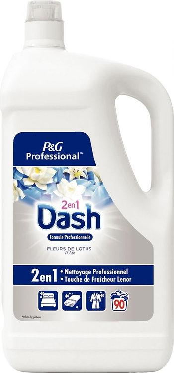 Bidon 5 litres 90 doses lessive liquide DASH 2en1