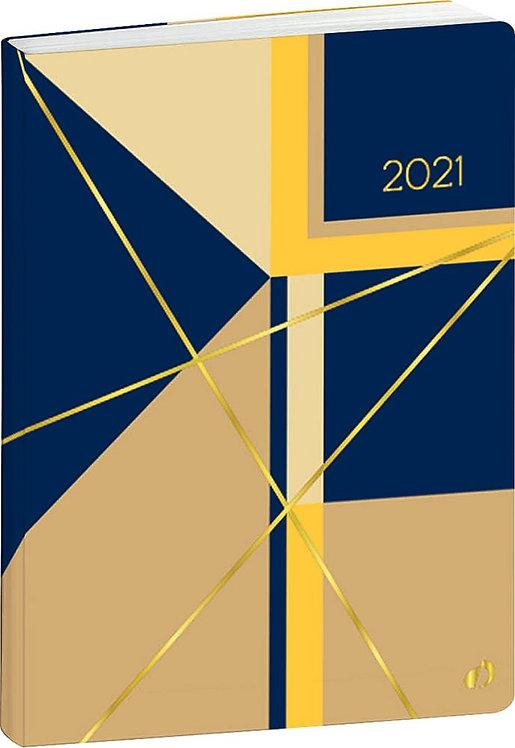 Agenda Weekly 15 x 21 cm jaune