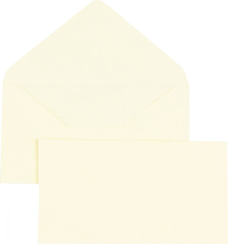 Boîte 500 enveloppes élection jaunes 90x140 75 g/m²