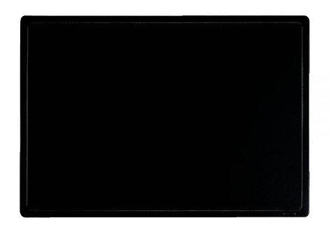Sous main PVC noir, format 35x45 cm