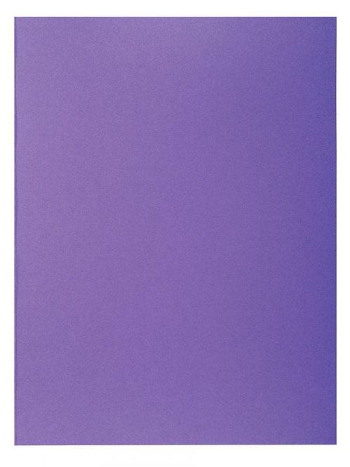 """Paquet de 100 chemises 210 g ROCK""""S 220 format 24x32 cm violine"""