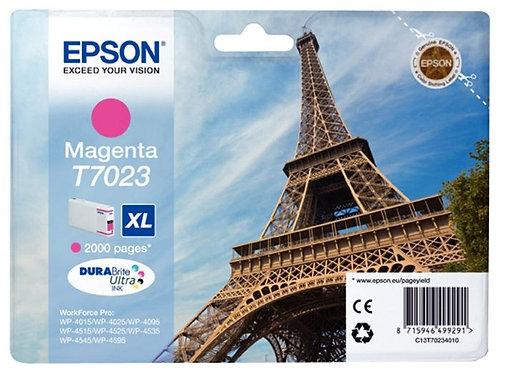 Cartouche jet d'encre à la marque Epson T702340 magenta haute capacité