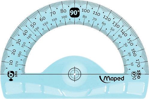 Rapporteur 180 degrés 12cm incassable