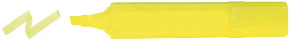Surligneur large standard jaune