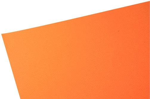 Paquet de 10 feuilles papier dessin couleur format 50x65 cm 160 g orange vif