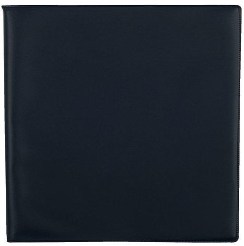 Agenda semainier de bureau classique 24 x 24 cm noir