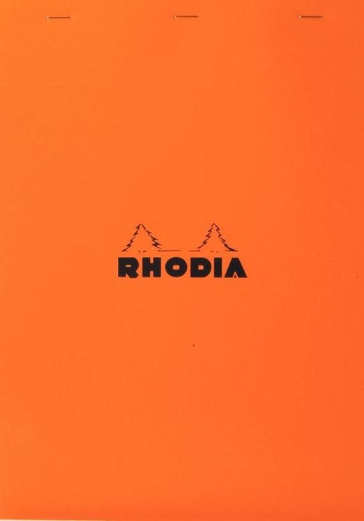 Bloc de bureau RHODIA A7 quadrillé 5x5 80 feuilles détachables
