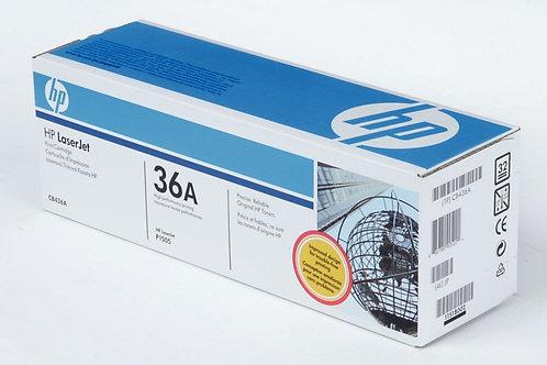 Cartouche laser à la marque HP CB436A noir