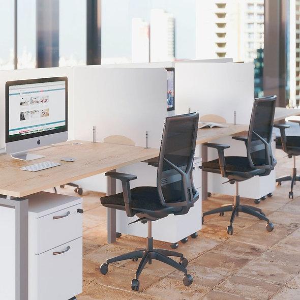 Panneaux écrans latéraux plexiglas translucide Duo BALI