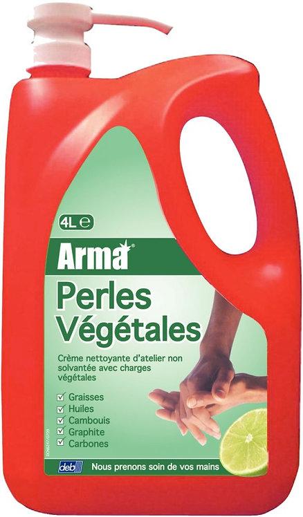 Bidon de crème lavante d'atelier perles végétales 4 litres
