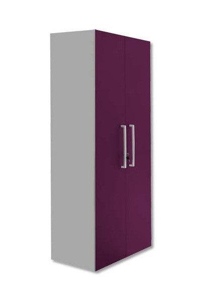 Armoire haute Bip - 2 portes mélamine