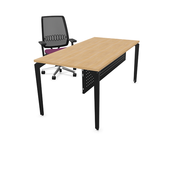 Table de bureau PARIS - Piétement Gris anthracite