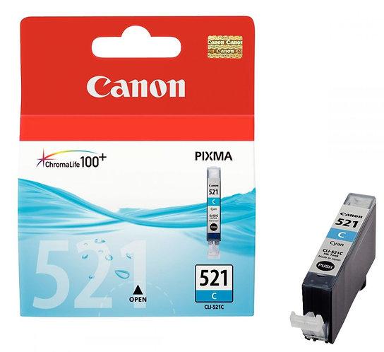 Cartouche jet d'encre à la marque Canon CLI-521 cyan