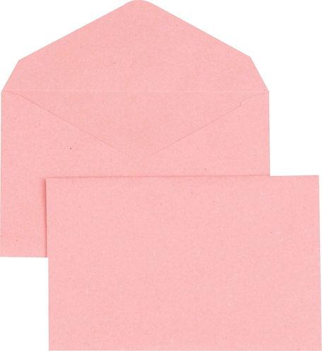 Boîte 500 enveloppes élection recyclées roses 90x140 75 g/m²