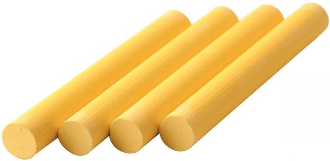 Boîte de 100 craies cylindriques Robercolor jaune