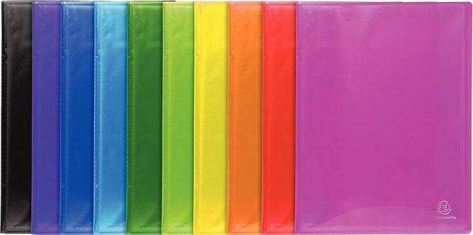 Protège-documents IDERAMA PP 40 vues coloris assortis