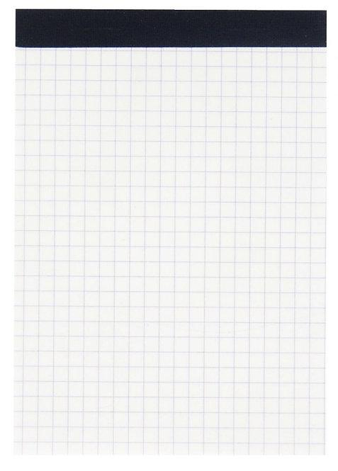 Bloc de bureau 100 feuilles 60 g, 5x5 sans couverture, 10,5x14,8 cm