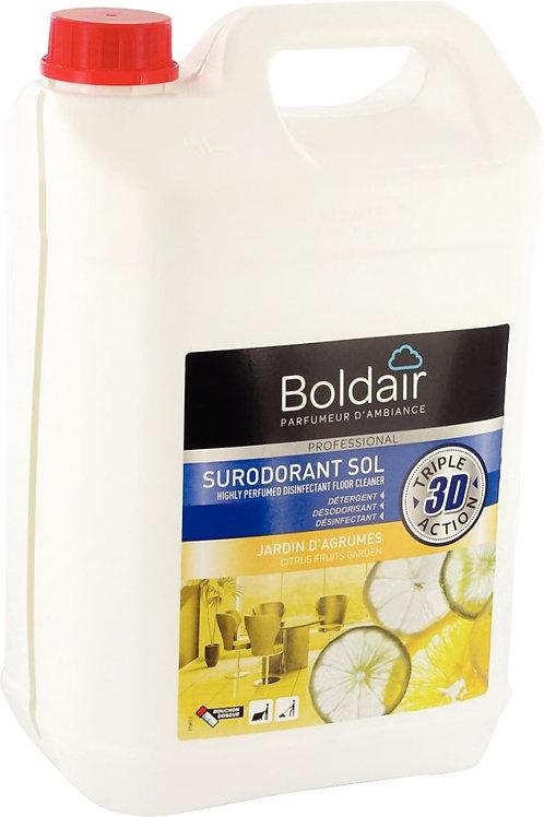 Bidon 5 litres nettoyant surodorant désinfectant jardin d'agrumes