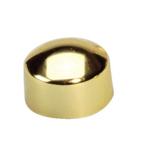 Blister de 10 punaises magnétiques, diamètre 9 mm or