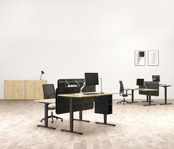 Bureau individuel ELEKTRIKA - P. 80 cm