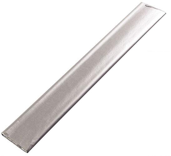 Sachet de 8 feuilles papier de soie 50 x 75 cm couleur argent