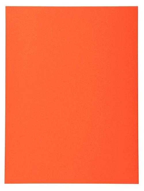 Paquet de 100 chemises 220g FOREVER 250 format 24x32 cm orange