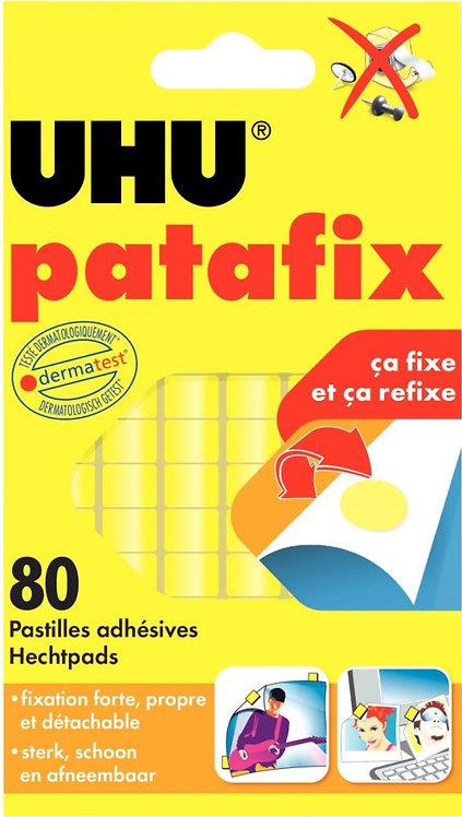 Blister de 80 pastilles adhésives PATAFIX jaune