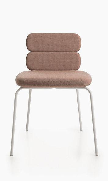 Chaise CLUSTY - 2 niveaux - 4 Pieds métal