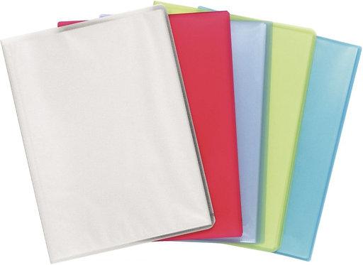 Protège-documents CHROMALINE 180 vues pour format A4 coloris assortis