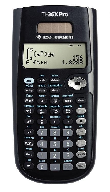 Machine à calculer scientifique Texas Instrument  TI-36X PRO