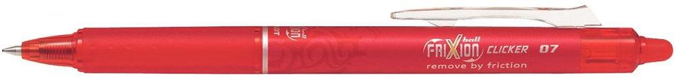 Roller effaçable Frixion Clicker rétractable rouge