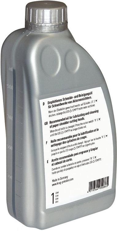 Bidon d'huile 1L pour destructeur coupe croisée et fibre