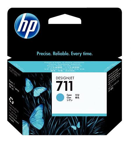 Cartouche jet d'encre à la marque HP CZ130A cyan
