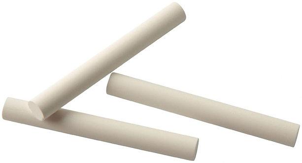 Boite de 100 craies blanches cylindriques