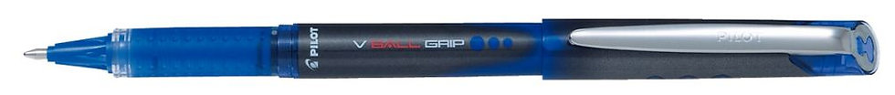 Roller Pilot V-Ball grip bleu
