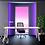 Thumbnail: Bureau sur meuble porteur BALAGAN - Plateau mélamine - Piétement Anthracite