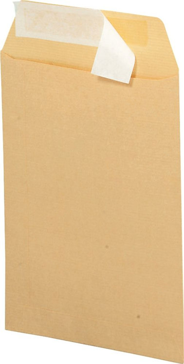 Boîte de 250 sacs Kraft, 90 grammes en format 23X32, bande silliconée