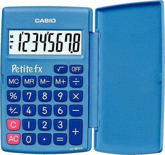 Calculatrice de poche CASIO 8 chiffres PETITE FX BLEU