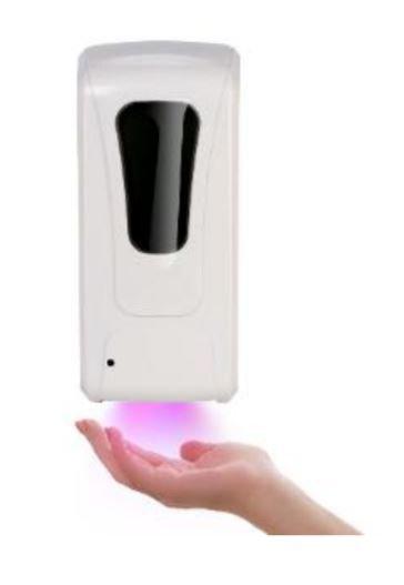 Distributeur avec détecteur infrarouge - Rechargeable