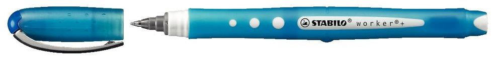 Roller Worker pointe conique bleu