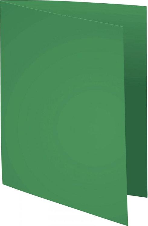 """Paquet de 100 chemises 210 g ROCK""""S 220 format 24x32 cm vert sapin"""